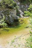 Crique de canyon de Ã-tschergräben photo libre de droits