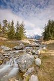 Crique de cascade Image libre de droits