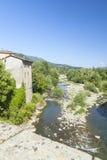 Crique de Castelnuovo Photo libre de droits