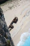 Crique de contrebandiers sur Zakynthos Photographie stock libre de droits