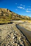 Crique de désert Photos libres de droits