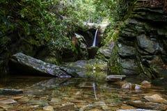Crique de Dobbins, Ridge Parkway bleu photos stock