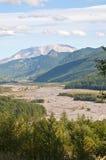 Crique de hofstadt du Mont Saint Helens photographie stock