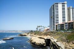 Crique de La Jolla Image stock