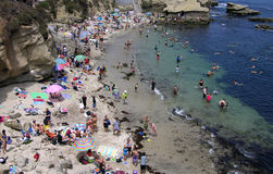 Crique de La Jolla de San Diego Photo stock