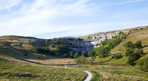 Crique de Malham Photo stock