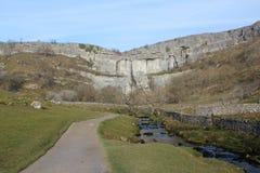 Crique de Malham Photos stock