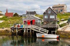 Crique de Peggys de hutte de Fishermans Photographie stock