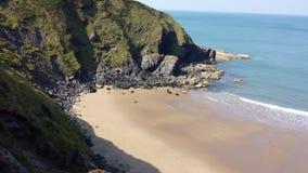 Crique de plage Image stock