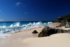 crique de plage d'astwood Image libre de droits