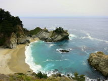 Crique de porcelaine de plage de la Californie Photographie stock