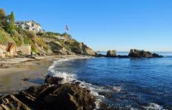 Crique de rue de mousse, Laguna Beach, la Californie Photographie stock libre de droits