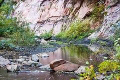 Crique de Sedona Photos libres de droits