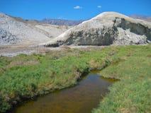 Crique de sel de Death Valley Image libre de droits