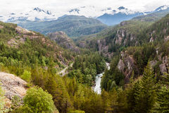 Crique de Whistler Fitzsimmons Photographie stock