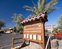Crique Death Valley de four Image stock