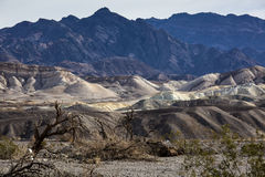 Crique Death Valley de four images stock