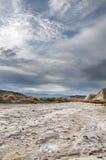 Crique Death Valley de sel Image libre de droits