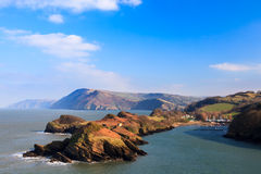 Crique Devon England de Watermouth Images libres de droits