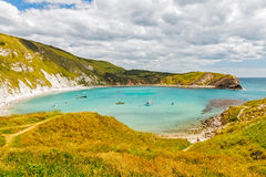 Crique Dorset de Lulworth photographie stock libre de droits