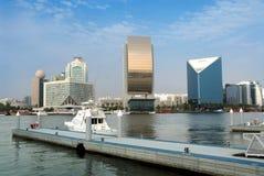 crique Dubaï Photographie stock