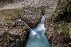 Crique en Autriche - Zell AM voient photo stock