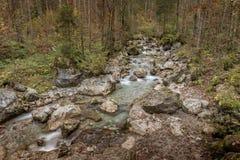Crique en Autriche - Zell AM voient images stock