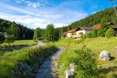 Crique en Bavière Photos stock