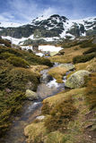 Crique en sierra de Guadarrama - près de Madrid Photo stock