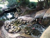 Crique en Zen Paradise photo stock