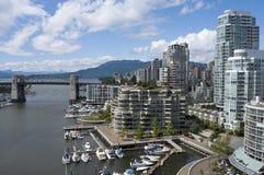 Crique fausse Vancouver Photos stock