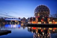 Crique fausse, Vancouver Images libres de droits