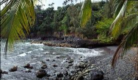 Crique Hawaï Photographie stock libre de droits