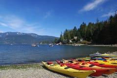 Crique profonde, Vancouver du nord Images stock