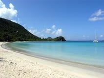 Crique Tortola BVI de contrebandiers Photos stock