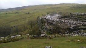 Crique Yorkshire Angleterre de Malham images stock