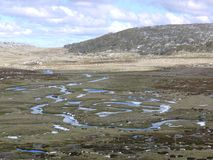 Criques dans les montagnes de Milou Photo libre de droits