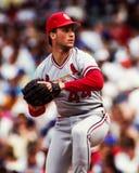 Cris Carpenter, St. Louis Cardinals. St. Louis Cardinals pitcher Cris Carpenter #44. Image taken from color slide stock photo