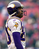 Cris Carter, Minnesota Vikings στοκ εικόνες