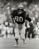 Cris Collinsworth Cincinnati Bengals WR. Former Cincinnati Bengals WR Cris Collinsworth #80. (Image taken from B&W negative royalty free stock images