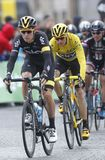 Cris Froome 2015 Tour de France Royalty Free Stock Image