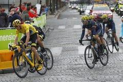 Cris Froome 2015 Tour de France Royalty Free Stock Photos