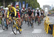 Cris Froome 2015 Tour de France Royalty Free Stock Photography