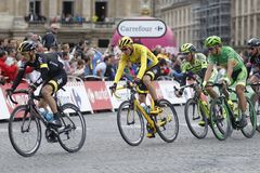 Cris Froome 2015 Tour de France Royalty Free Stock Images