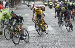 Cris Froome 2015 Tour de France Royalty Free Stock Photo