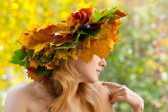 Crisalide di autunno Fotografia Stock Libera da Diritti
