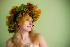 Crisalide di autunno Fotografie Stock