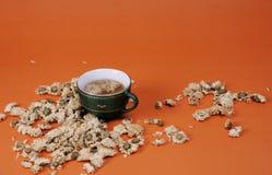 Crisantemo e tè Immagini Stock
