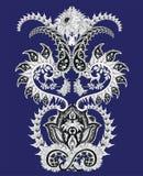 Crisantemo Paisley Fotos de archivo libres de regalías