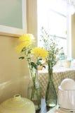 Crisantemo y gypsophila Imágenes de archivo libres de regalías